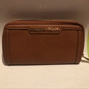 Christian Siriano Brown Wallet (RARELY USED)